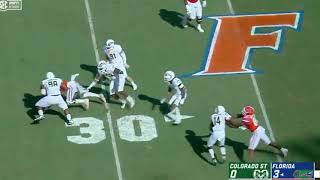 Download Florida football film study: offensive line vs. Colorado State Video