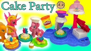 Download My Little Pony Pinkie Pie Makes Treats for MLP with Cake Party Playdoh Maker Playset Video