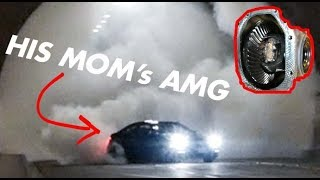 Download WELDING THE DIFF ON HIS MOM'S C63 AMG! Then STREET DRIFTING It! Video