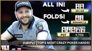 Download TOP 6 MOST CRAZY POKER HANDS OF ALL TIME! Video