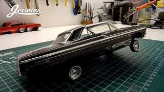 Download 1/25 RC '64 Chevy Impala dancing lowrider Video