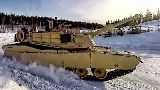 Download USMC Tanks vs Norway's Tanks On Ice Video