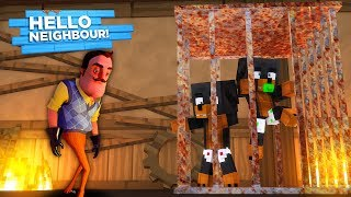 Download Minecraft HELLO NEIGHBOR - THE NEIGHBOR HAS DONUT & BABY MAX TRAPPED IN HIS BASEMENT!!!! Video