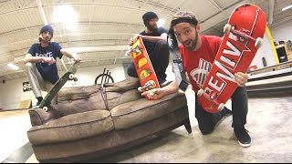 Download GROSS COUCH SKATE / CAN WE SHRED IT? EP6 Video