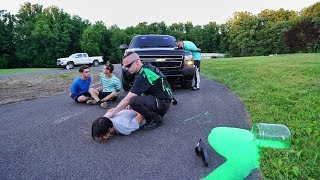 Download SLIME PRANK ON COP GONE WRONG! Video