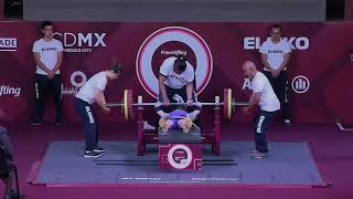 Download Lidiia Soloviova | Women's Up to 50kg | Mexico City 2017 World Para Powerlifting Championships Video