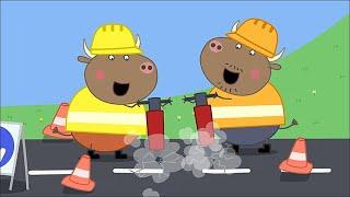 Download We Love Peppa Pig Mr Bull's New Road #44 Video