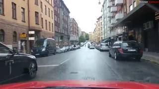 Download Bimmer Dashcam #11 - Cut off in Stockholm Video