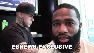 Download ADRIEN BRONER on his first big paycheck - EsNews Boxing Video