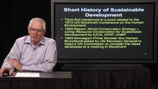 Download Lecture 1 - Sustainable Development Concepts Video