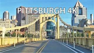 Download Driving Downtown - Pittsburgh 4K - USA Video