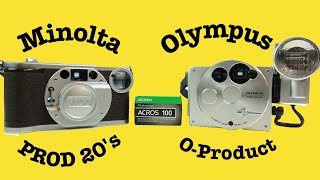 Download Retro-look 35mm Camera B&W Photo shoot-out Video