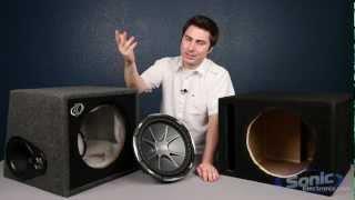 Download Comparing Subwoofer Boxes: Manufacturer & Prefab Enclosures Video