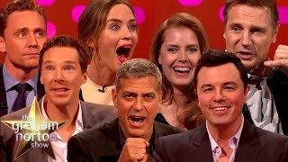 Download MORE Celebrities Impersonating Other Celebrities - The Graham Norton Show Video