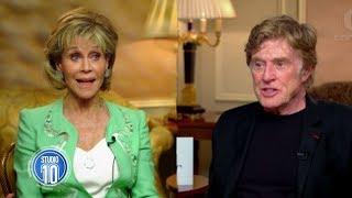 Download Jane Fonda & Robert Redford Reunite | Studio 10 Video