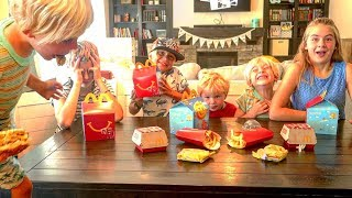 Download 🍟 5 Kids React To Eating McDonald's For The Very First Time 😂 Video