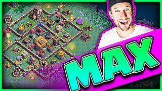 Download MAX BUILDER HALL! • Gem Clash of Clans Builder Base! Video