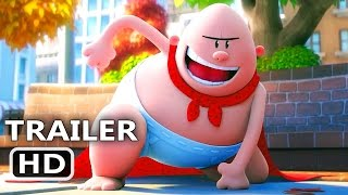 Download CAPTAIN UNDERPANTS Official Trailer (2017) Animation, Kevin Hart Movie HD Video