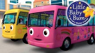 Download Wheels On The Bus | Part 8 | Nursery Rhymes | by LittleBabyBum! Video