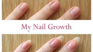 Download Nail Growth And Cutting My Stiletto Nails (time lapse) Video