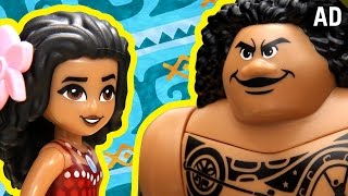 Download Moana As Told By LEGO | Disney Video