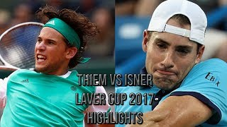 Download Dominic Thiem Vs John Isner - Laver Cup 2017 (Highlights HD) Video