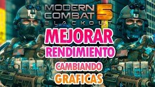 Download Como mejorar el RENDIMIENTO de Modern Combat 5 Windows PC | Cambiar Graficas Video
