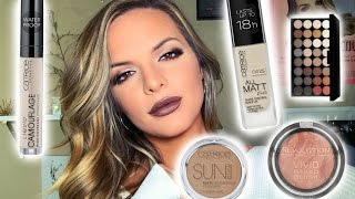 Download TRYING NEW DRUGSTORE MAKEUP! Hits & Misses | Casey Holmes Video