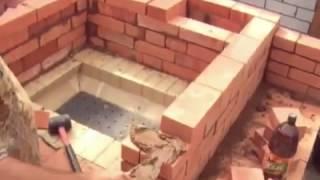 Download Как сделать камин из кирпича видео Video
