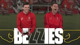 Download BEZZIES with Milner and Robertson | 'I had to phone my Dad for one of the answers' Video