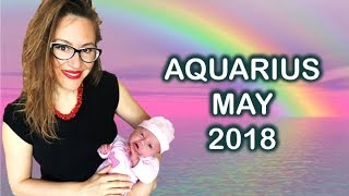 Download AQUARIUS May 2018. A New 7 Year Cycle BEGINS for AQUA! MORE STABILITY & Family PROSPERITY! Video