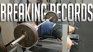 Download BREAKING MY HIGH SCHOOL'S LIFTING RECORDS | Quick Ab Workout Routine Video