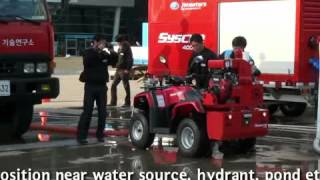 Download ATV Demo all terrain vehicle firefighting vehicle Video