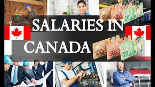 Download Average Salaries in Canada 2018 Video