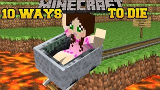 Download Minecraft: CRAZIEST DEATHS IMAGINABLE! - MORE WAYS TO DIE - Custom Map Video