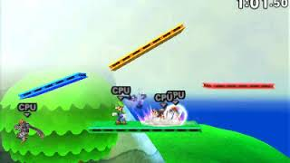 Download Super Smash Bros 3DS without music: 3D Land Video