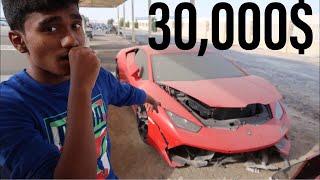 Download BUYING A CRASHED LAMBORGHINI HURACAN IN DUBAI Video