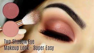 Download Beginners Eye Makeup Tutorial Using One Matte and One Metallic   How To Apply Eyeshadow Video
