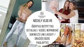 Download WeeklyVlog #6: Išgirtas OUTFIT'tas detaliau | Neprireikė suknelės LNK laidai |Gražios odos paslaptys Video
