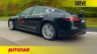 Download Bosch Autonomous Tesla | First Drive | Autocar India Video