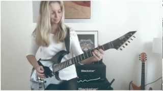 Download One - Metallica by Cissie on Guitar - with Hammett solo MULTICAM HD Video