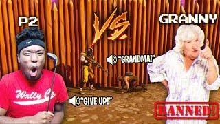 Download 10 yr Old HATER BRINGS GRANDMA ON THE MIC OVER THIS 1V1! CRAZIEST 1V1 EVER Video