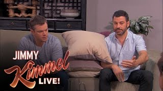 Download Matt Damon and Jimmy Kimmel Return to Couples Counseling Video