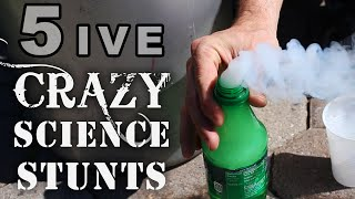 Download 5 Crazy Science Stunts You Can't Try At School Video