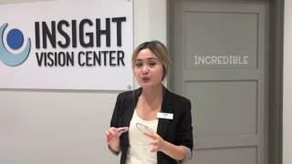 Download Anti-Reflective Coating Demonstration - Insight Vision Center Optometry Video