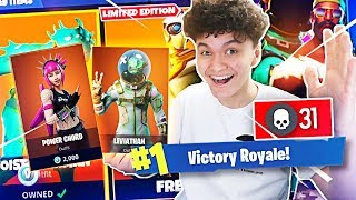 Download 1 WIN = ALL *NEW* SEASON 4 SKINS FOR LITTLE BROTHER (Fortnite Free Skin Challenge) Video
