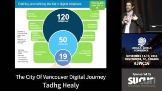 Download JWC 2016 - The City of Vancouver's Digital Journey - Tadhg Healy Video