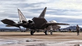 Download F-22 Raptors and F/A-18 Hornets At Fightertown USA Video
