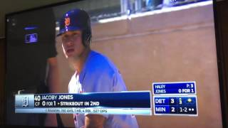 Download Jacoby Jones hit by 90mph fastball to the face Video