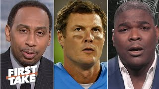 Download First Take debates whether Philip Rivers should retire from the NFL | First Take Video